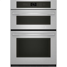 "Combination Microwave/Wall Oven with MultiMode® Convection, 30"", Euro-Style Stainless Handle"