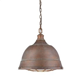 Bartlett 2 Light Pendant in Copper Patina