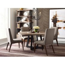 Concentric Round Dining Table Complete
