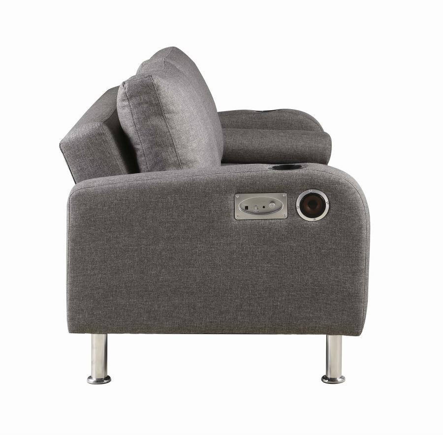Superbe Sofa Bed W/ Bluetooth Speakers
