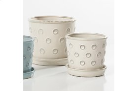 Pulsante Petits Pots with attached saucer - Set of 2