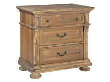 Wellington Hall Three Drawer Night Stand