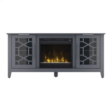 TV Stand with Electric Fireplace