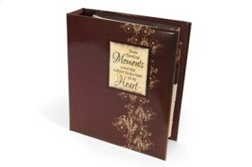 Canon Special Moments Special Moments Tabbed Photo Album- Wine Color