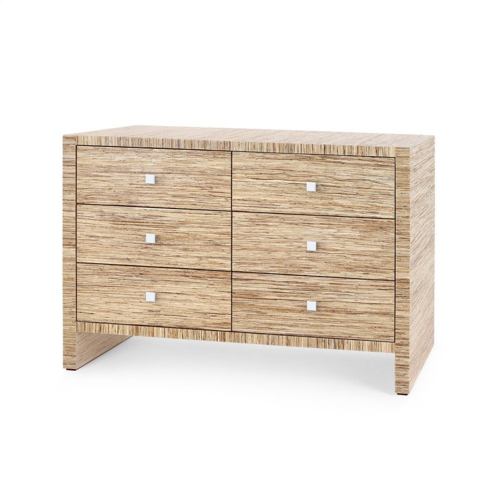 Morgan Extra Large 6-Drawer, Natural