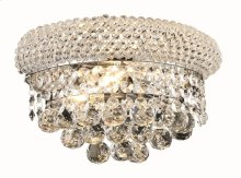 1800 Primo Collection Wall Sconce Chrome Finish