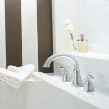 Tropic Deck-Mount Bathtub Faucet Trim Kit - Brushed Nickel