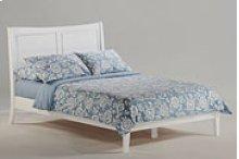 Saffron Bed in White Finish