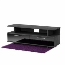 TV Stand with Drawers - Fits TVs Up to 60'' Wide - Gray Oak