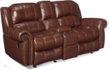 Sebastian Entertainment Sofa w/2 Glider Recliner-Stg Console Product Image