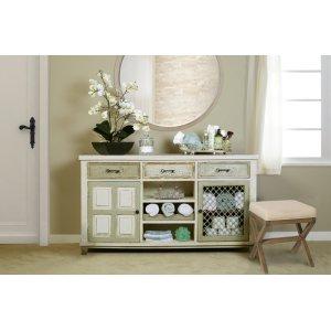 Hillsdale FurnitureSomerset Wood Vanity Bench - Driftwood