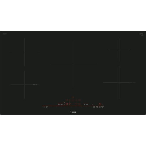 """800 Series 36"""" Induction Cooktop with Home Connect , NIT8669UC, Black Frameless"""
