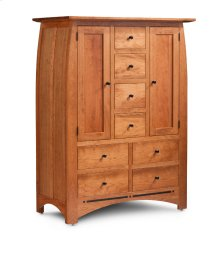 Aspen Door Chest with Inlay