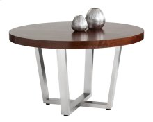 Estero Round Dining Table - Brown