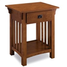 Mission Night Stand with Drawer #8222