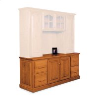 """Classic File Drawer Credenza, Classic File Drawer Credenza, 72"""" Product Image"""