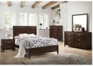 1006 Agathis Full Bed with Dresser & Mirror Product Image