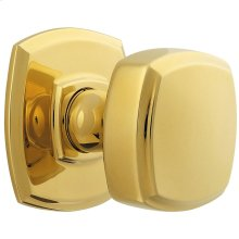 Lifetime Polished Brass 5011 Estate Knob