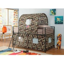 Camouflage Tent Bunk Bed