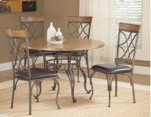 Sierra Metal / Wood Dinette Table