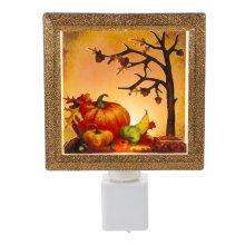 LED Pumpkin Scene Night-Light