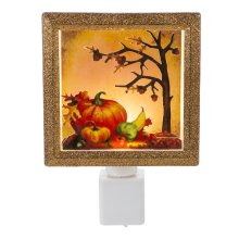 LED Pumpkin Scene Night-Light