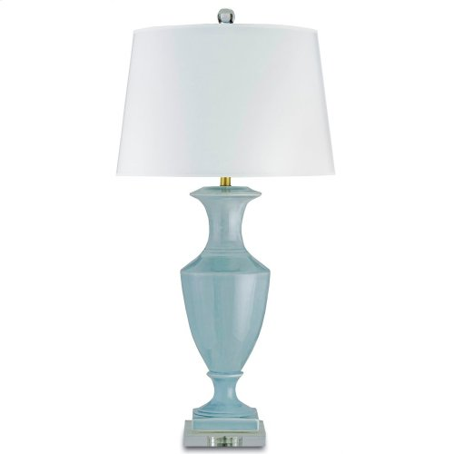 Timeless Blue Table Lamp
