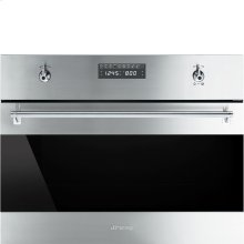 """60CM (Approx. 24"""") """"Classic"""" Built-in Speed Oven with 1000W Microwave, Fingerprint-Proof Stainless Steel"""