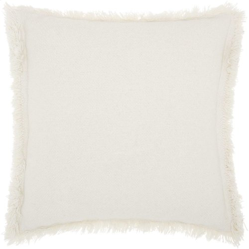 "Life Styles E0450 White 20"" X 20"" Throw Pillows"