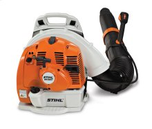 The world's only professional backpack blower with electric start.