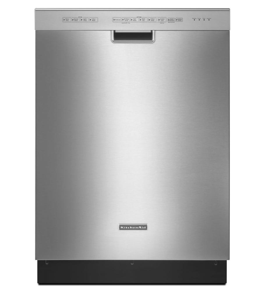 KitchenAid® 24 Inch 4 Cycle/6 Option Dishwasher, Pocket Handle