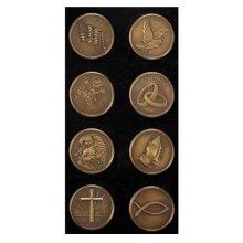 Memorial Medallion 8-PC Assorted Set