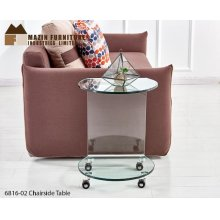 Console Table with Shelf 12 & 8mm Bent Glass