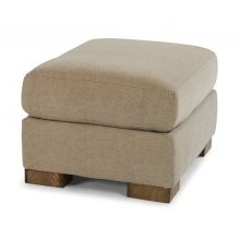 Bryant Leather Ottoman