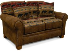 Edger Loveseat with Nails 4E06N