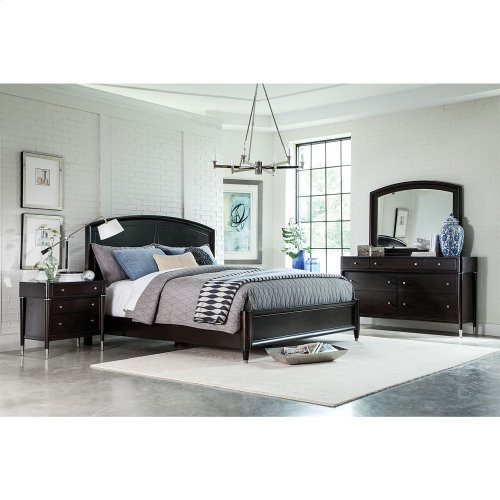 BROYHILL 4257-250-251-450 Vibe Panel Queen Bed