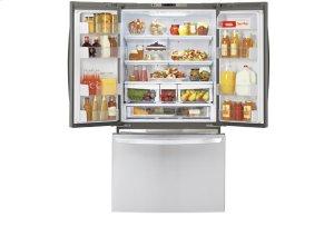3-Door French Door Refrigerator with cabinet depth