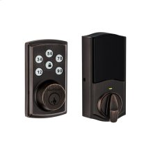 Kwikset SmartCode 888 Touchpad Electronic Deadbolt (for Works with Ring Alarm Security System) - Venetian Bronze