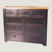 9 Drawer Mule Chest Product Image
