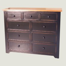 9 Drawer Mule Chest