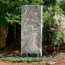 Ribbed Waterwall Fountain