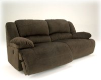 Toletta 2 Seat Reclining Sofa - Chocolate Collection Product Image