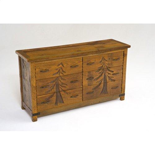 Sequoia 6 Drawer Dresser