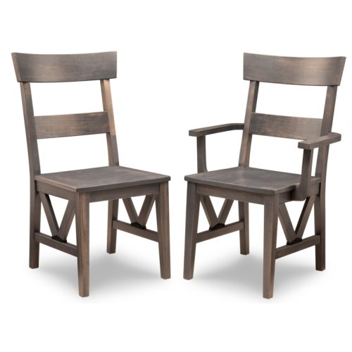 Chattanooga Arm Chair With Wood Seat