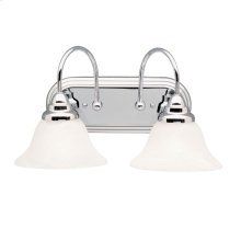 Telford 2 Light Vanity Light Chrome