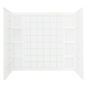Ensemble™ Wall Set with Age-in-Place Backers - White Product Image