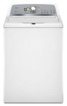 White Maytag® Bravos X™ Top Load Washer with PowerWash® Cycle