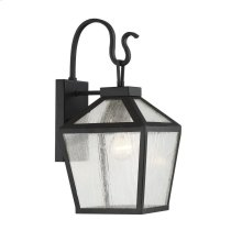 Woodstock 1 Light Outdoor Wall Lantern