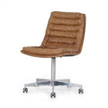 Pampas Nut Cover Malibu Desk Chair