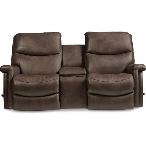 Baylor Reclina-Way® Full Reclining Loveseat w/ Console